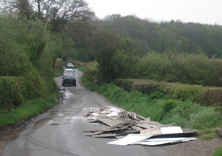 True Cost of Illegal Flytipping of Asbestos Waste Removals Instead of Asbestos Experienced Removals