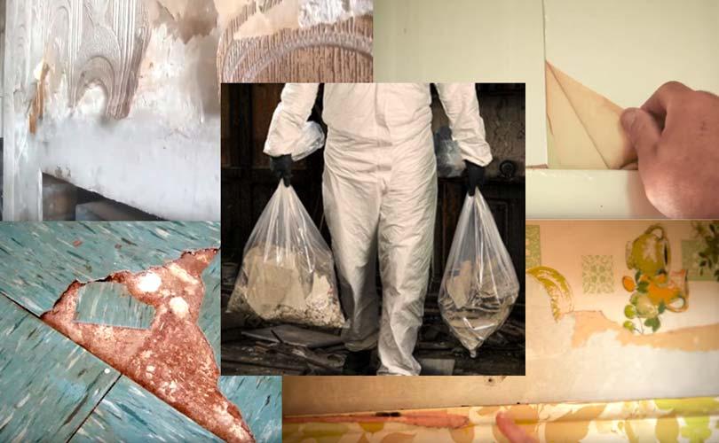 Carrying Asbestos in Plastic Bags
