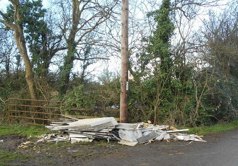 Asbestos Experienced Removals Needed For Rise in Flytipping Since Lockdown