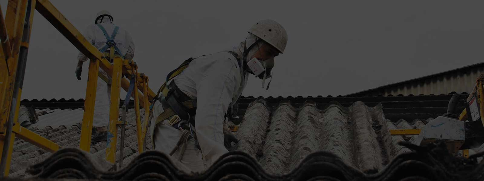 Collecting Asbestos Roof Sheets