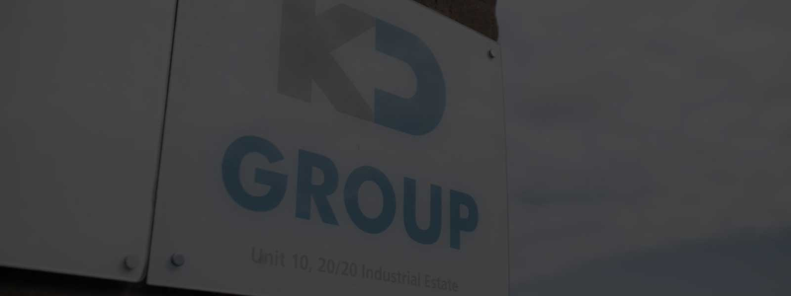 KD Group Office Sign