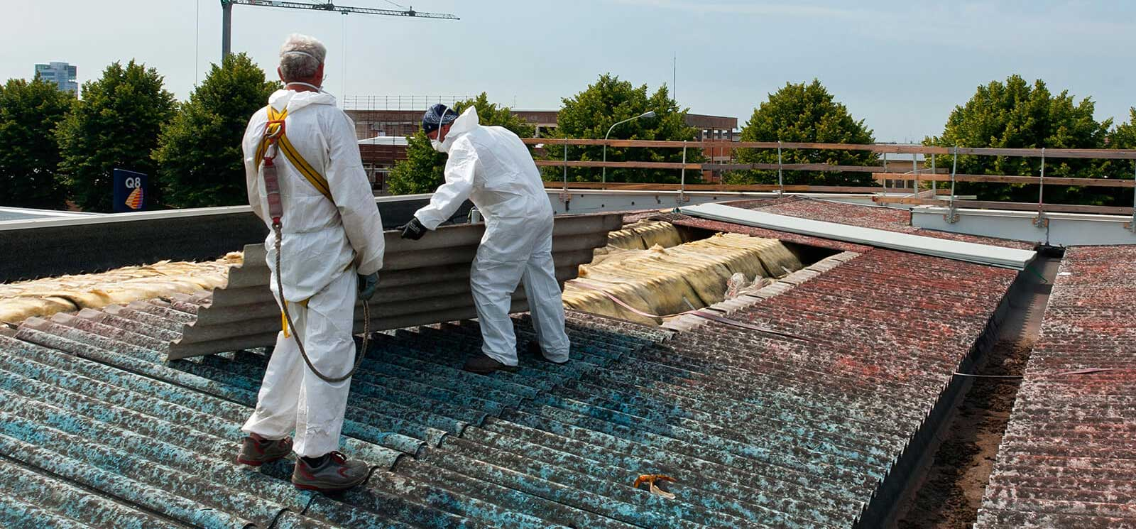 Removing Corrugated Asbestos-Roof