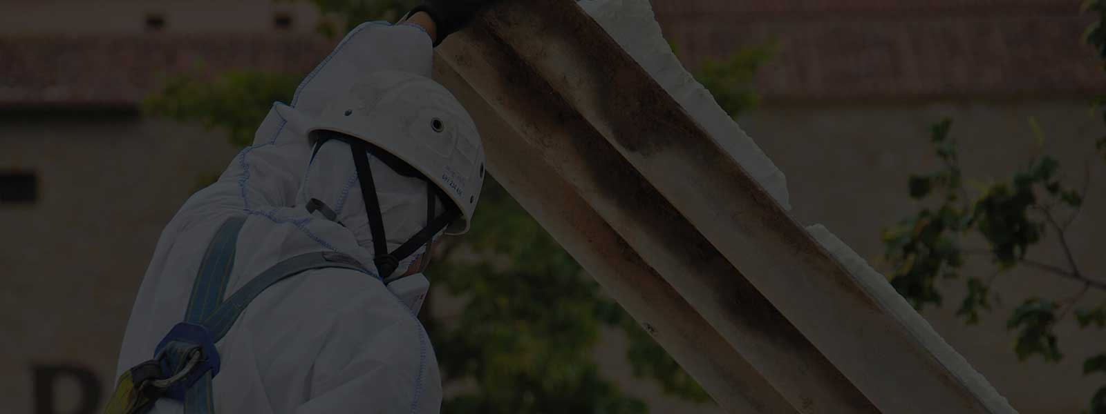 Removing Corrugated Asbestos Sheets