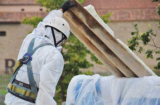 Sheet Wrapping Asbestos
