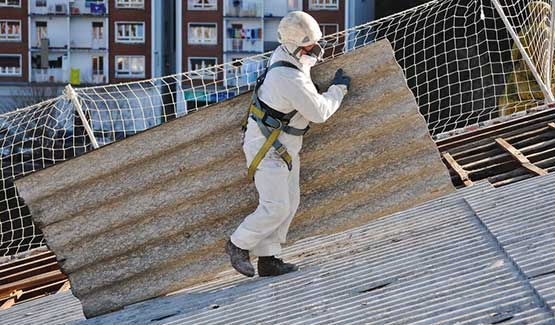 Taking Away Asbestos Roof Sheet