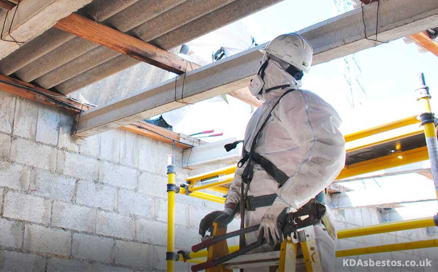 Inspecting Asbestos Roof Panels